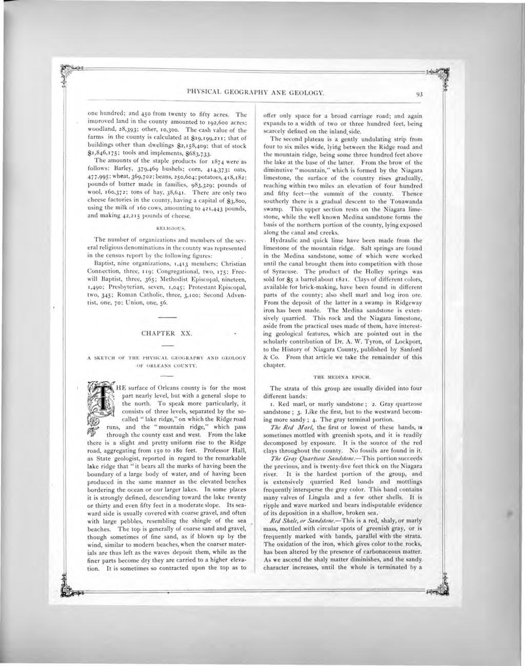 Historical Album of Orleans County, NY: Pioneer Chapters - PDF