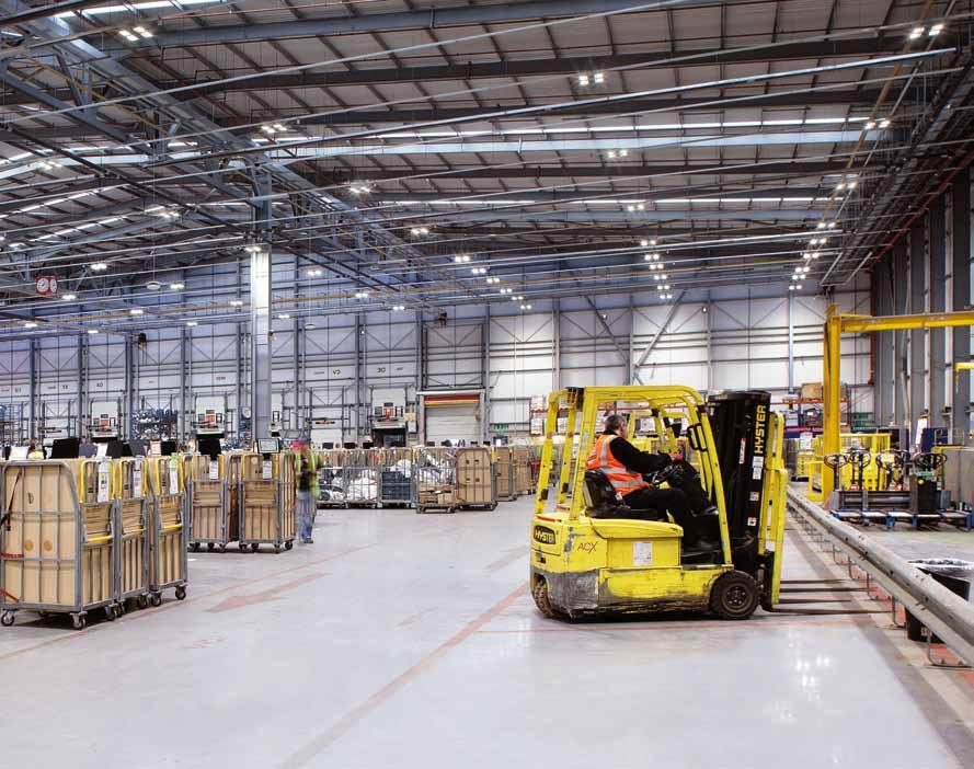 Case Study Energy Efficient Warehouse Lighting Elba