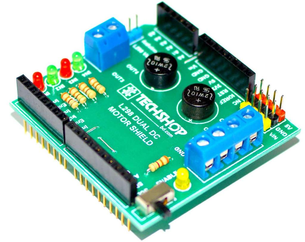 Arduino L298 Dual Dc Motor Shield Pdf Picaxe Model Railroad Speed Controller 1