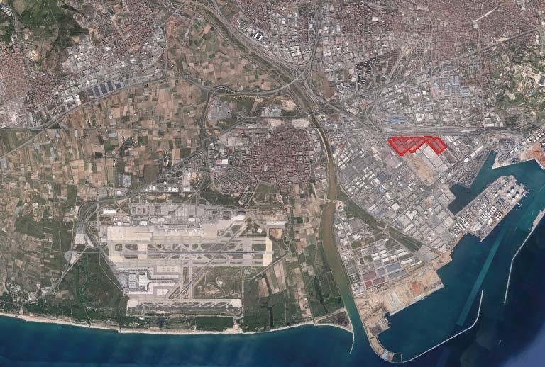 ZAL Port is divided into 2 main logistics areas (ZAL Prat and ZAL Barcelona) which together comprise over 431k sqm of built warehouses, 400k sqm of land for
