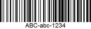 used barcodes. They are found on each consumer product, for example on groceries, DVDs, clothing etc. that are being scanned at a POS (Point-of- Sale).