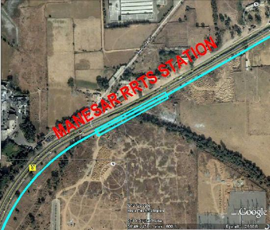 Near the 2 nd toll plaza, the alignment will move back to the service road. The alignment will continue along the NH-8 and cross Lakhnaula village and proceed to Manesar.