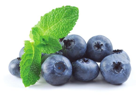 BLUEBERRIES are filled with powerful antioxidants to enhance brain health. Sprinkle them on cereal or oatmeal.