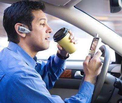 Distracted driving Driver distraction: The diversion of attention away from activities critical for safe driving toward a competing activity Distracted
