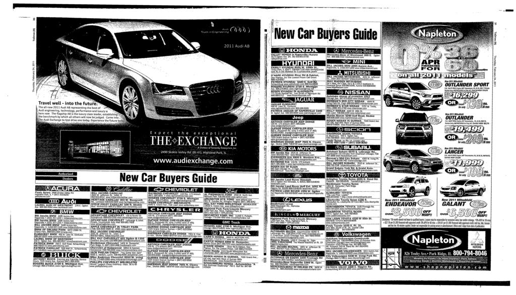 MonsmO 'New Car Buyers Guide Travel well - into the future. The att.row 2011 Audr AB representing the best of f Audi er grosexog, tetheotogy, pertororaooe cod Luoury A here row.