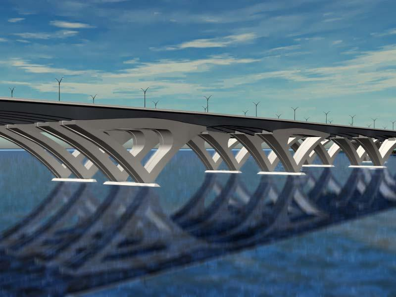 Woodrow Wilson Bridge Foundation Project Design/Bid/Build Woodrow Wilson Bridge over the Potomac River I-95/I495 Client: Maryland State Highway Administration Contact: Mr.