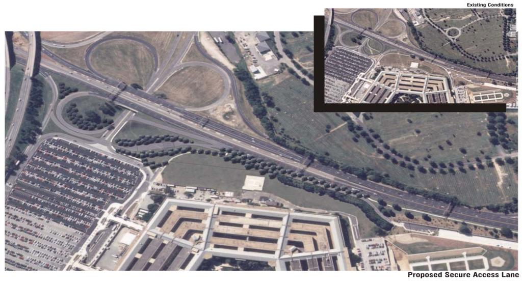 Pentagon, Arlington County, Virginia Pentagon Secure Access Lane Design/Build Project Client: Pentagon Renovation Program Contact: Mr.