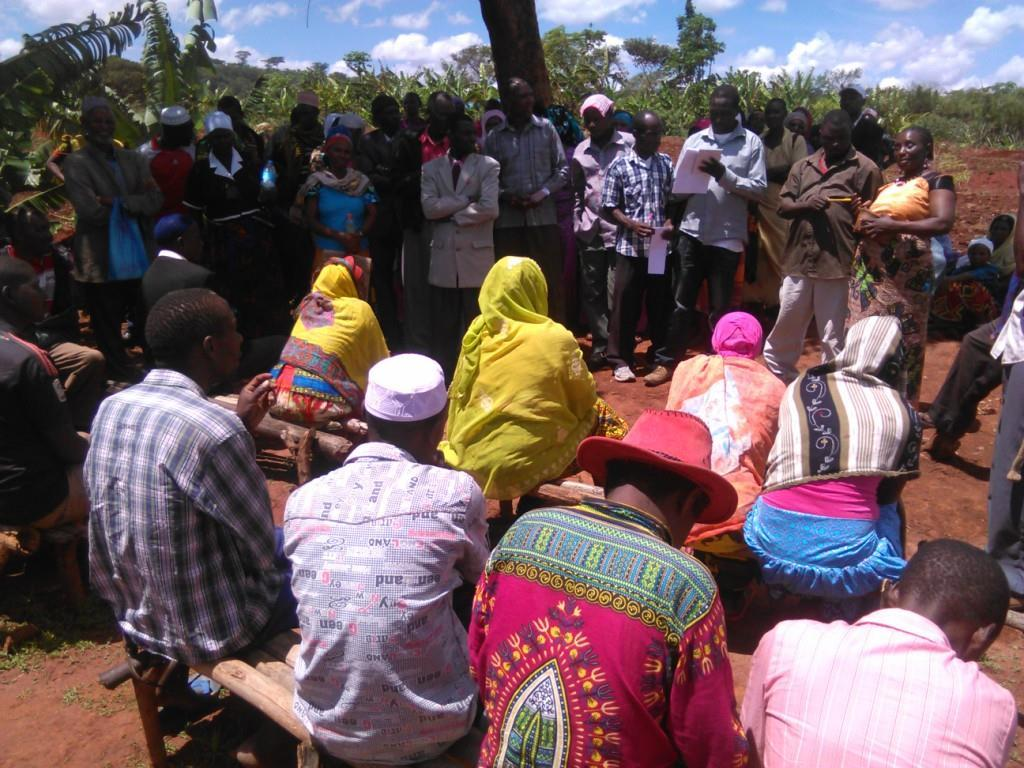 Farmers from Magara visited