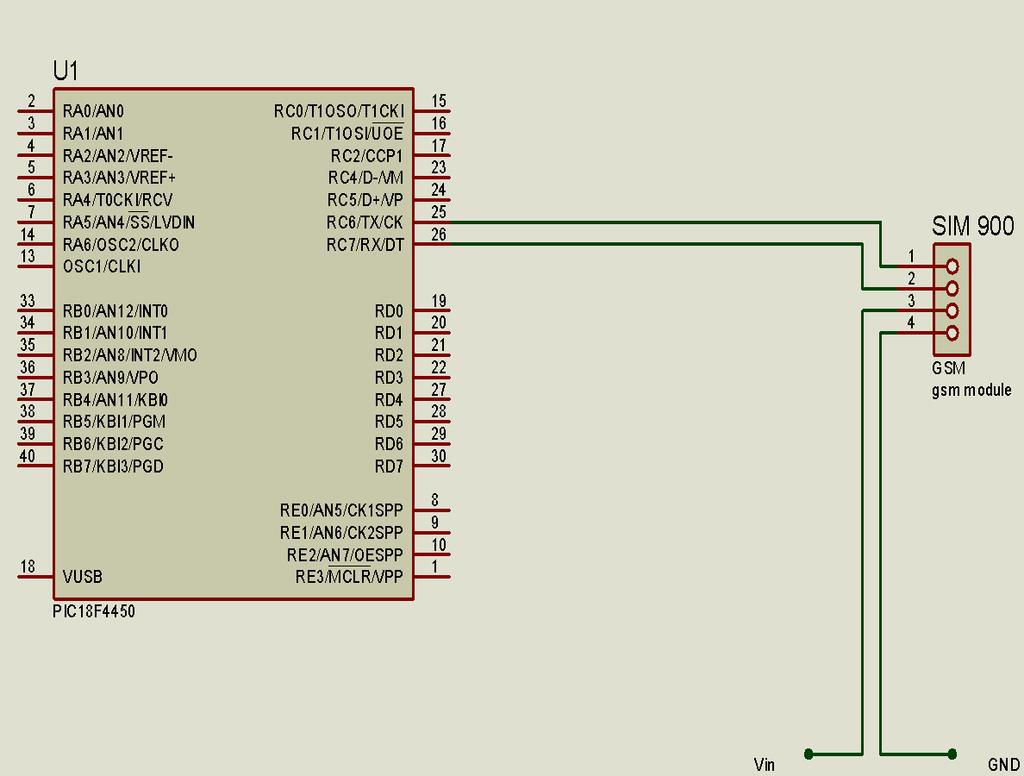 A Low Cost Water Consumption Meter System Based On Gsm Technology Pdf Modem Interfacing With 8051 Microcontroller At89c51 58 Serial Port Is Connected Receive Signal Rxd Of Interface