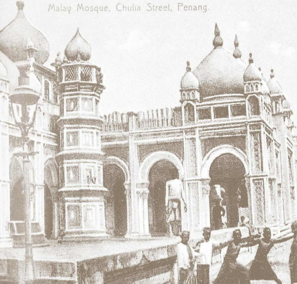 (Courtesy of Tan Kim Hong, reproduced from his book, 'The Chinese in Penang: A Pictorial History') Masjid Kapitan Kling, built in 1801, was named after Cauder Mohideen