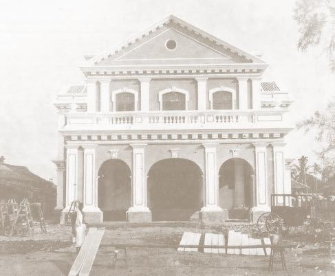 The Chinese Town Hall, built by 1886, functioned as the apex Chinese body with equal number of Guangdong and