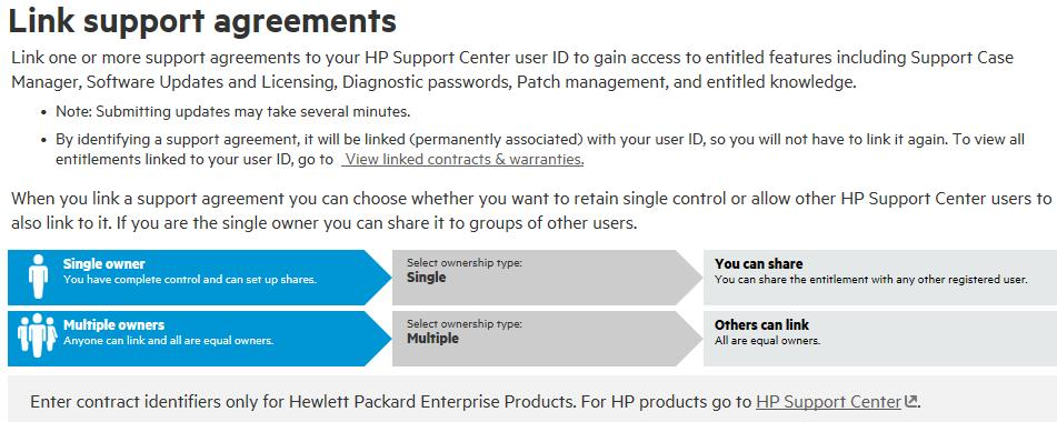 HPE Support Center User Guide - PDF