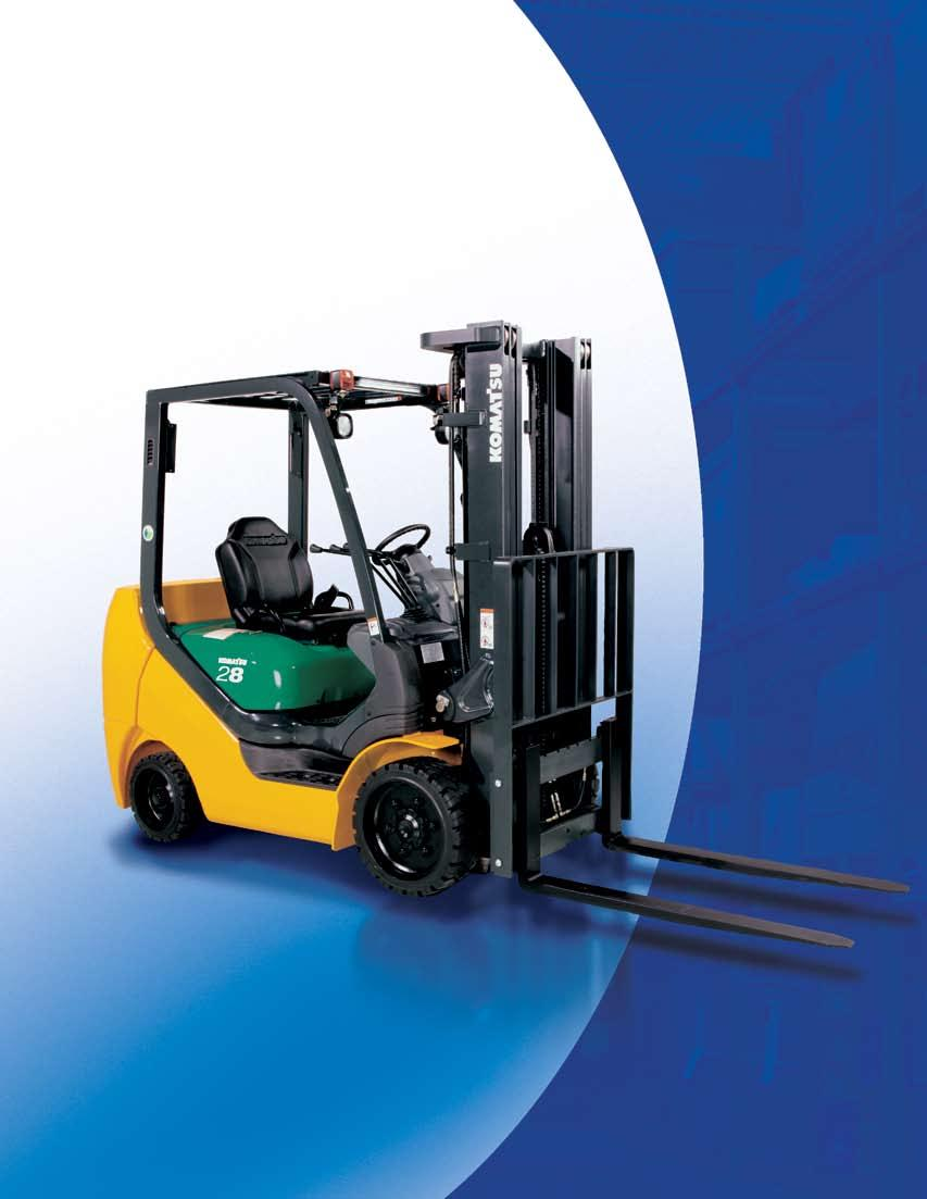 Bx50 Komatsu Forklift Feature Brochure Series Cushion Wiring Diagrams Acc 50 Transcription