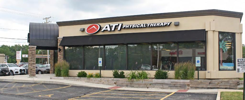 NET LEASE INVESTMENT OFFERING  ATI Physical Therapy (Chicago