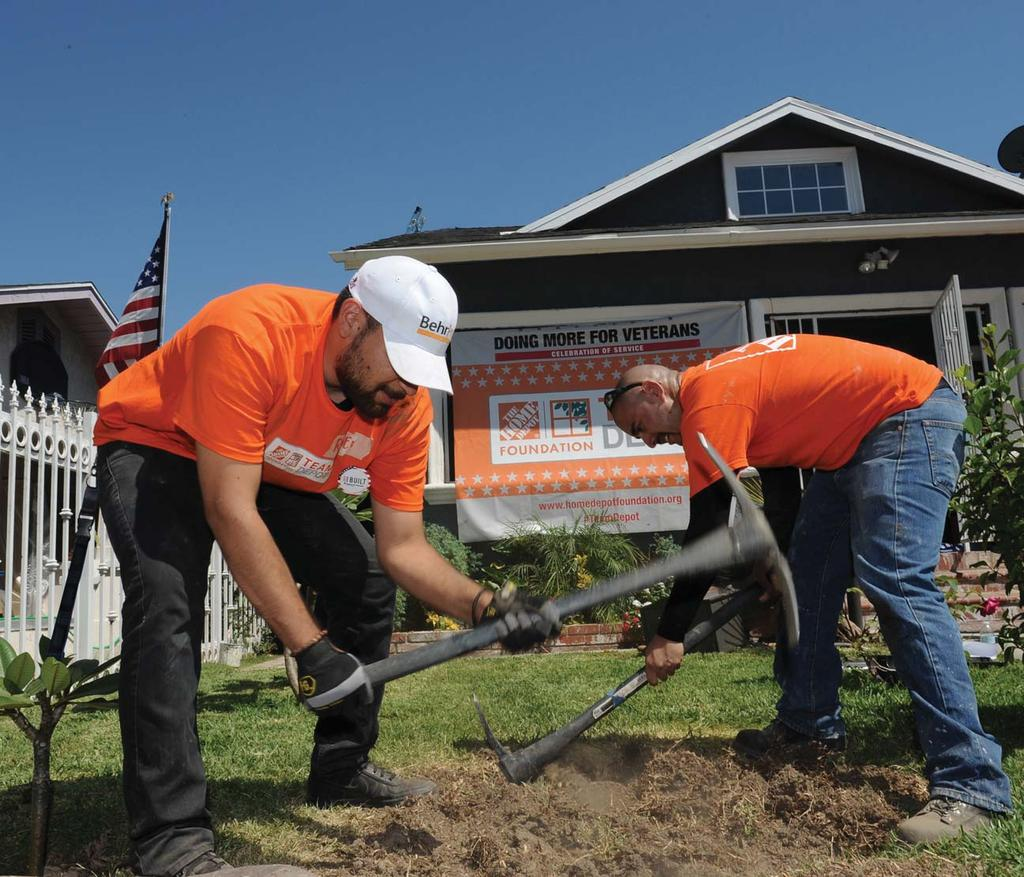 OUR MISSION Ensure Every Veteran Has a Safe Place to Call Home The Home Depot