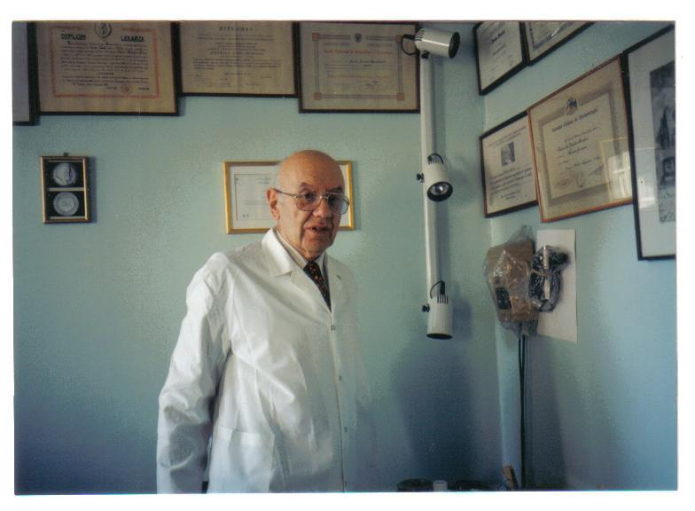 Professor Dr Jacob Sheskin (1914-1999) Leprosy is caused by the Mycobacterium leprae, which is similar to the Mycobacterium tuberculosis, and, like the tubercle bacillus, is hard to treat with