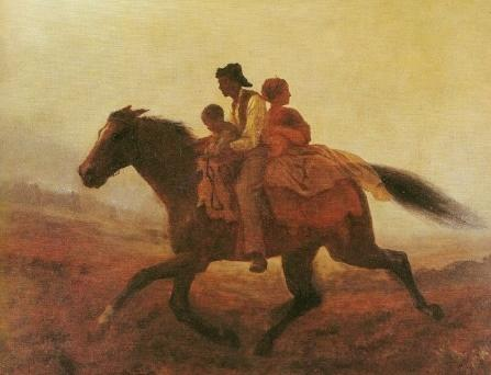 Document 2 A Ride for Liberty - - The Fugitive Slaves 1862 Eastman Johnson, American (Brooklyn Museum) Section 6 And be it further enacted, That when a person held to service or labor in any State or