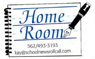 com ADVERTISING SALES: Leslie Rawlings 714/856-9884 Fax: 562/430-8063 leslie@schoolnewsrollcall.