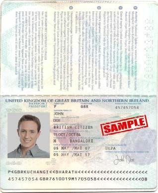 Proof of Identity (POI) The POI must be a valid government issued document.