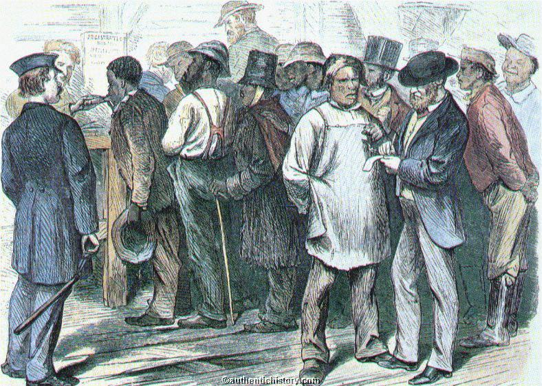In the summer of 1865, some freed people began donning hats, twirling canes, and refusing to yield the right of way to whites on sidewalks.