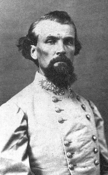 In Pulaski, Tennessee, former Confederate cavalry leader Nathan Bedford Forrest organized the Ku Klux Klan in 1866.