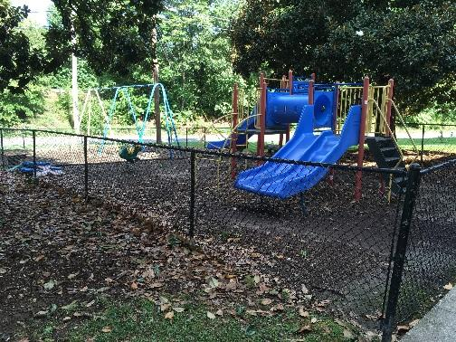 Currently, NAI and Peace United Church of Christ have a sub-par and unsafe outdoor environment for young children (see attached pictures).