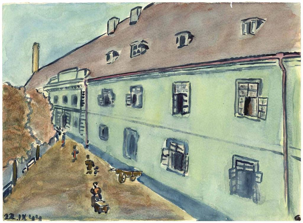 CHAPTER 4 THE MADMAN S PLOT The ghetto and transit camp of Terezin was located 40 kilometres north of Prague.