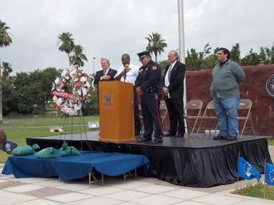 The event was sponsored and organized by the Harlingen Police Department, and Harlingen Mayor Chris Boswell delivered the proclama on for the event on behalf of the City of Harlingen.