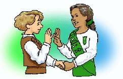 ACTIVITIES Girl Scout Handshake Teach girls how to do the Girl Scout handshake.