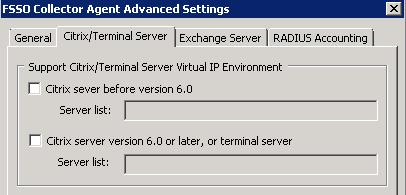 Agent-based FSSO Configuring FSSO Advanced Settings Exchange Server FSSO supports monitoring Microsoft Exchange Server.