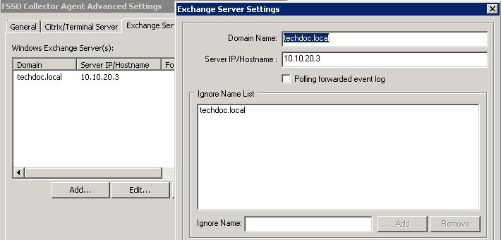 Configuring FSSO Advanced Settings Agent-based FSSO RADIUS Accounting A RADIUS server must be configured in your network to s accounting messages to the Collector Agent which can be configured to