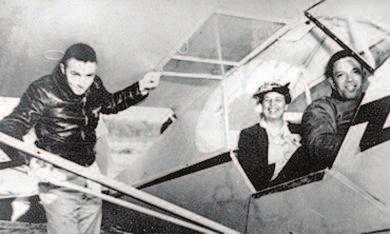 Chapter 27 Fighting the Good Fight in World War II, 1941-1945 805 Figure 27.8 First Lady Eleanor Roosevelt insisted on flying with an African American pilot to help fight racism in the military.