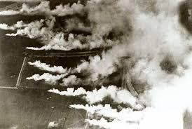 P for the POISON in great clouds of gas it came. Who first used poison gas in WWI? What type of gas was used? Where was it first used? When was it first used? Why was it used?