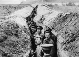 T for the TRENCHES home to every fighting man. Who were the first to use trenches? What was the function of the trench? Where did the trench system extend? Why were so many trenches constructed?