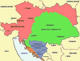 A is for AUSTRIA-HUNGARY who were dealt a Black-Hand. What was Austria-Hungary? When was it founded? Who was the Emperor?
