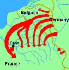 G is for GERMANY that followed the Schlieffen plan. Who was Schlieffen? What was the crux of his plan? When was it to be initiated? Where was it to be applied? Why did it fail?