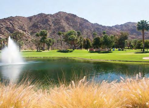 City of Indian Wells Indian Wells is located on 15 miles of lushly landscaped properties surrounded by beautiful mountains.