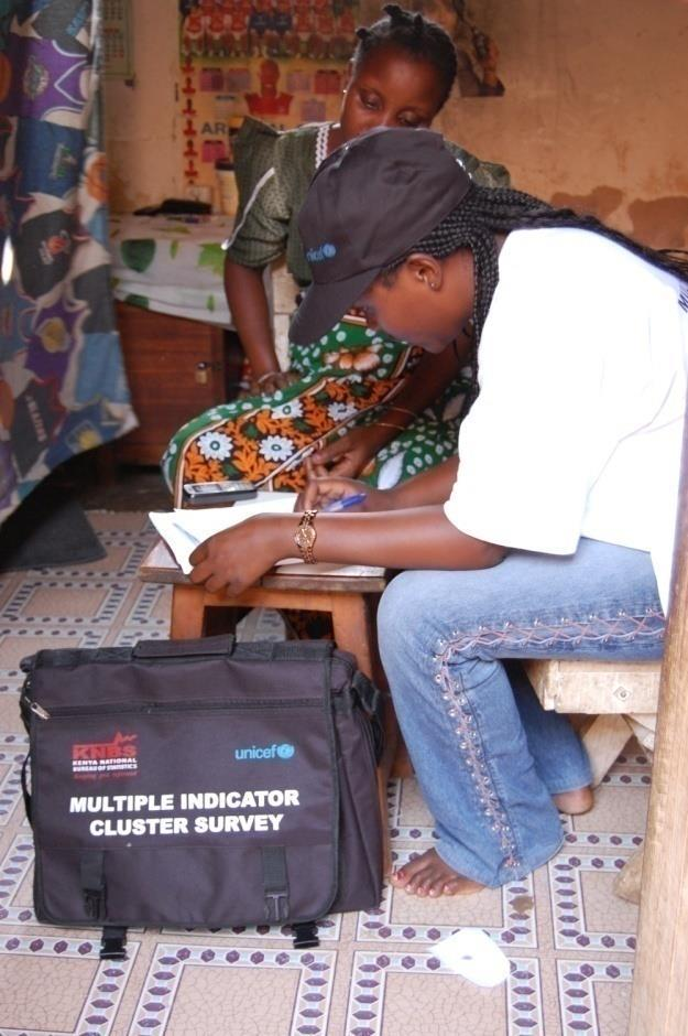 UNICEF s support for data collection: the