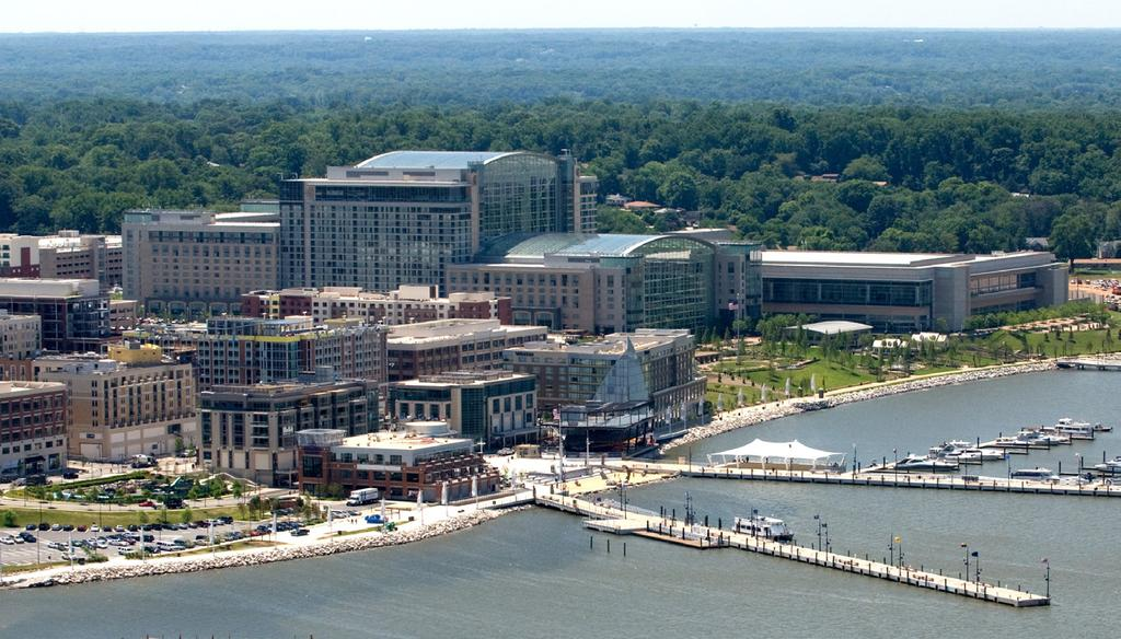The National Harbor Overview (source: www.petersoncos.