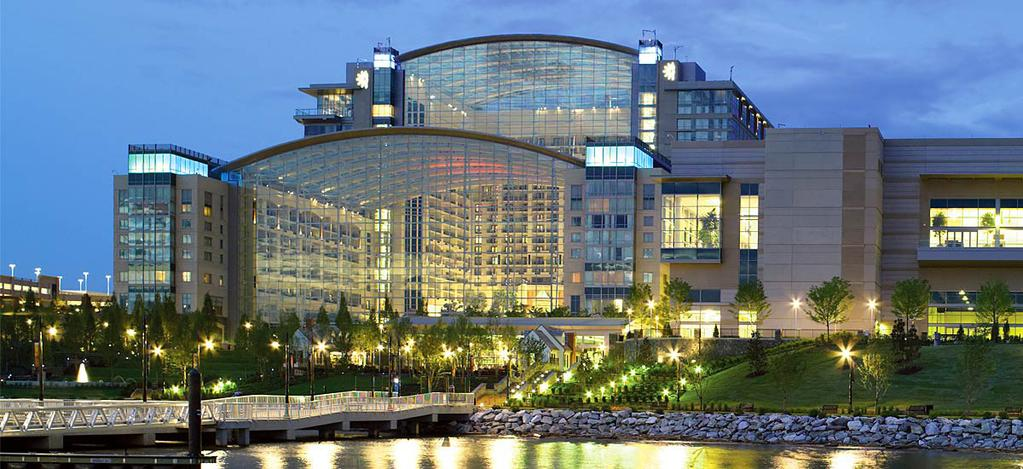 The Gaylord National Resort and Convention Center is a world-class destination which opened in the spring of 2008.
