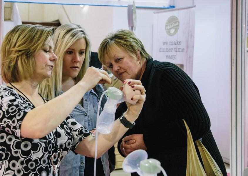 Around the show As well as showcasing over 150 brands for mums and dads to test and buy, we invest in features and facilities that enhance the show experience and contribute to a great day out