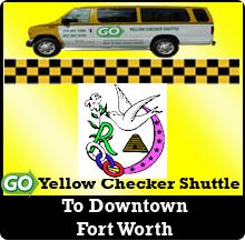 Airport Transportation Discount GO Yellow Checker Shuttle is offering discount DFW Airport transportation for Testimonial for Sister Sharon Burt Click on the button to learn about several