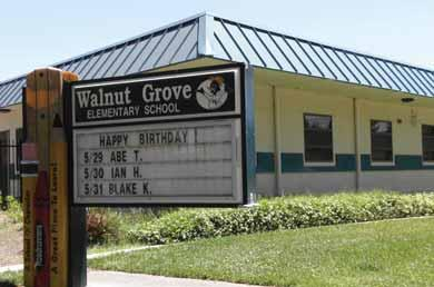 Healthy  Staying  Documents detail Walnut Grove principal s