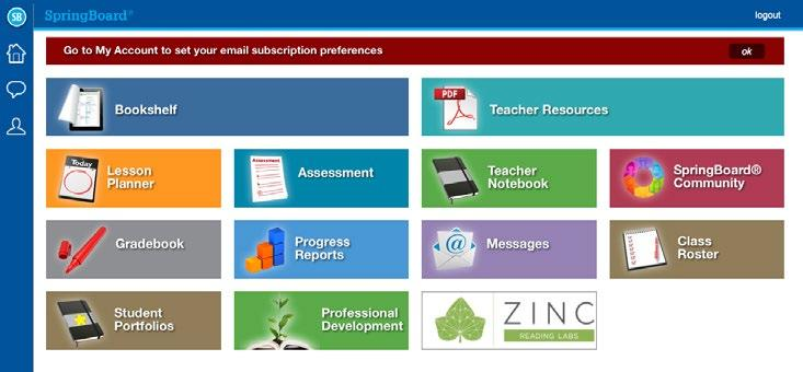 Springboard digital features guide mathematics grades pdf dashboard overview the springboard digital homepage is where teachers and students access all content tools fandeluxe Gallery