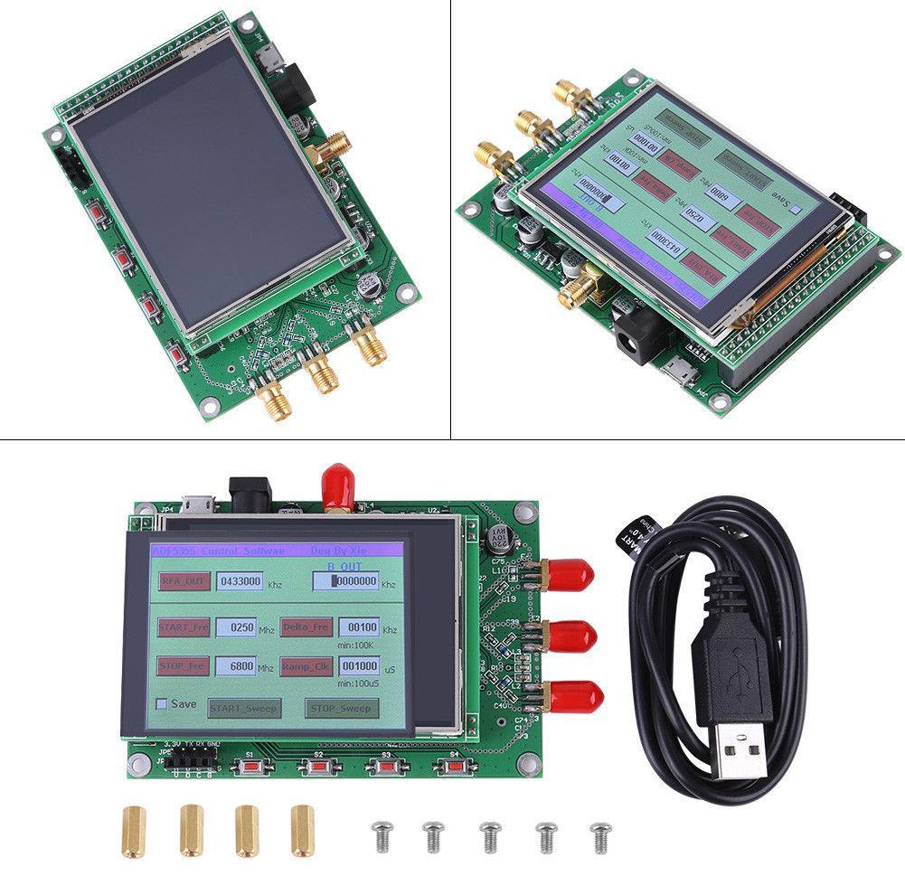 Improving The Adf5355 Synthesizer Board Version With Touch Display 12v 8211 32 V 5a Power Supply By Lm338 Transcription