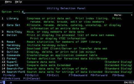 z/os Basic Skills: Introduction to ISPF Unit 3: Using the ISPF
