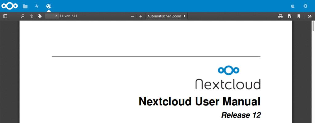 Nextcloud Server Administration Manual - PDF