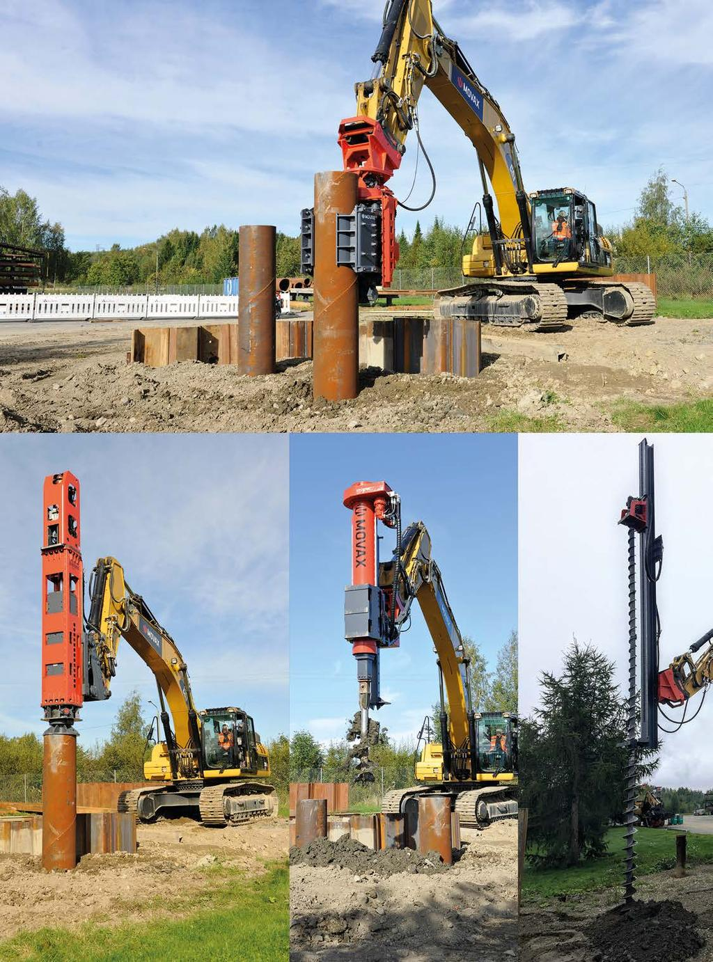 INNOVATIVE PILING SOLUTIONS MOVAX PRODUCT CATALOGUE PDF