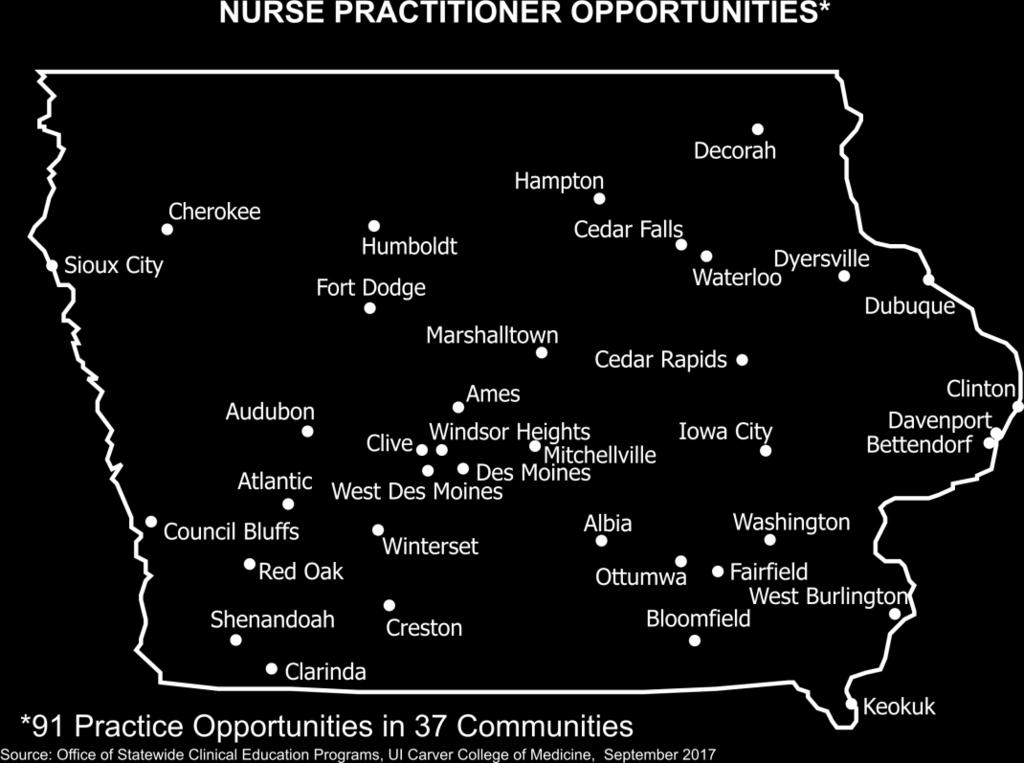 IOWA  Opportunities Directory  Advanced Practice Providers - PDF