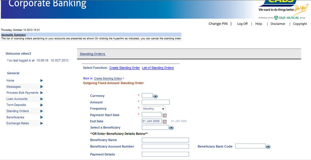 CABS internet banking User Guide Business User - PDF